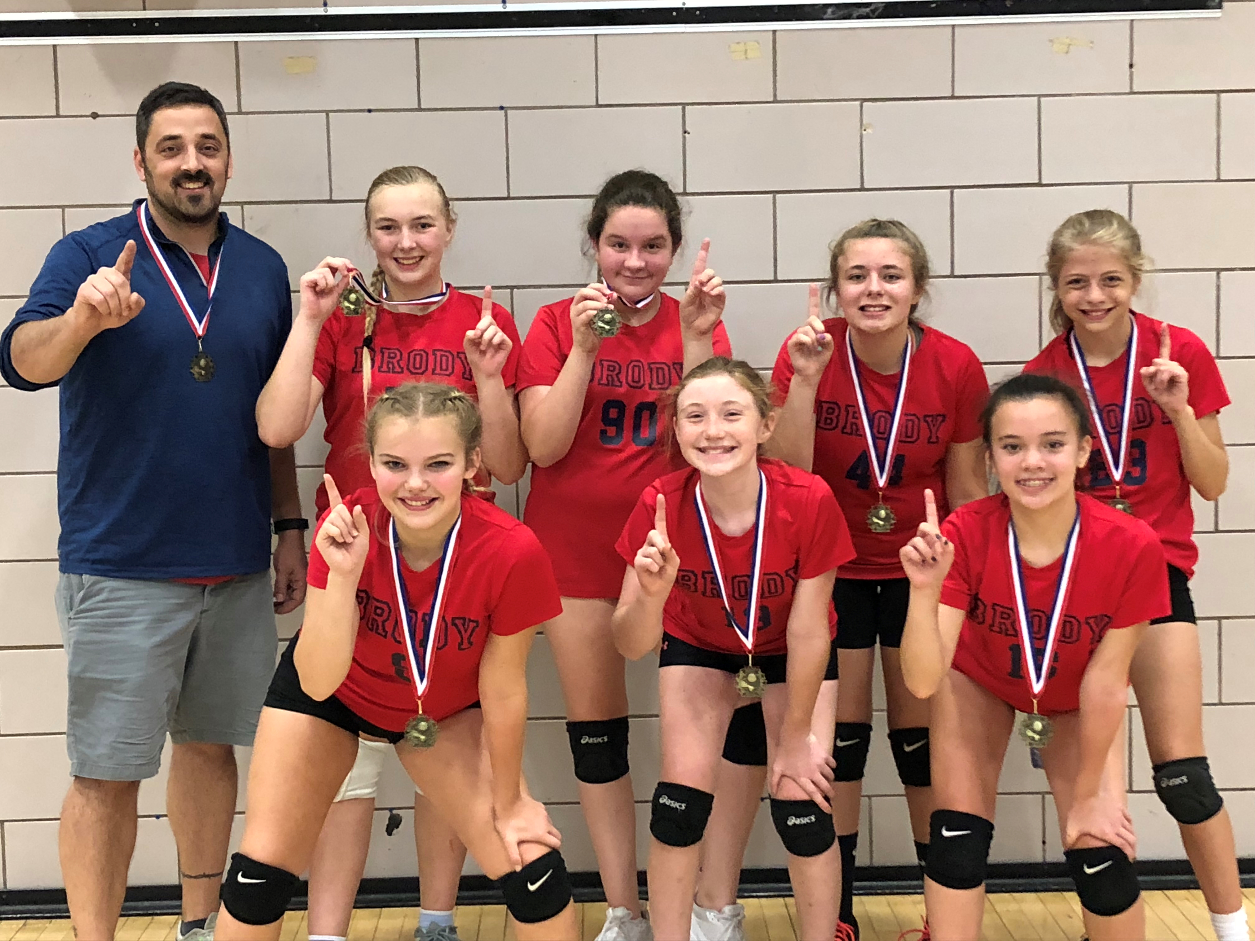 Brody 7th Grade Volleyball Champs!