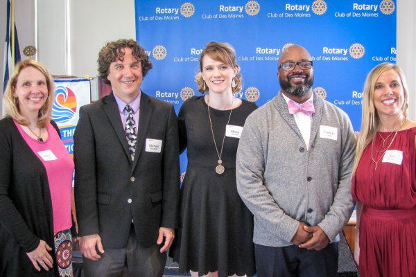 Congratulations, Maria Howard – Rotary Educator of the Year!