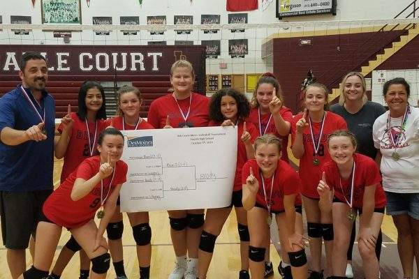 8th Grade Volleyball City Champs!