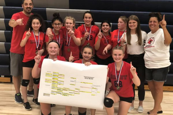 7th Grade Volleyball City Champs!